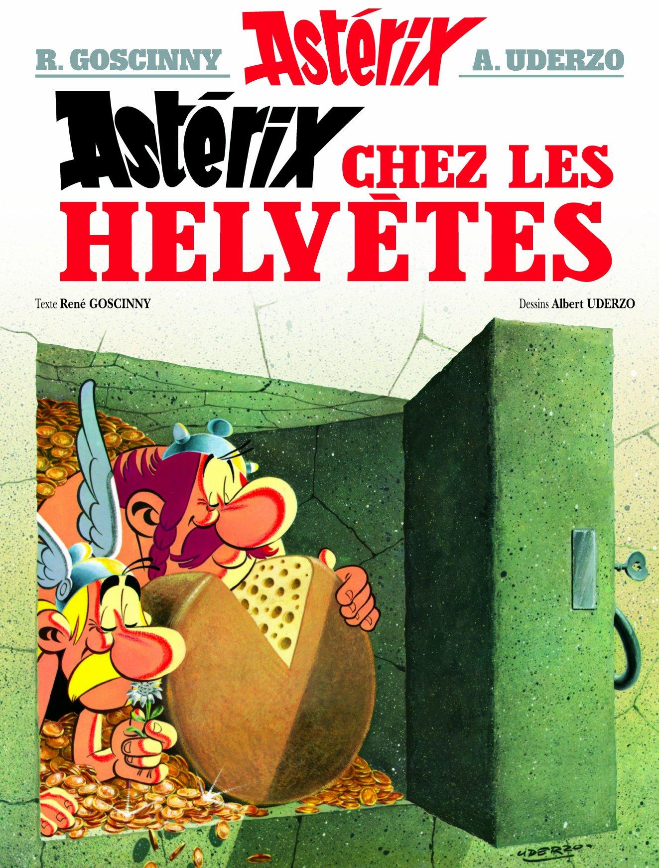 Asterix Chez Les Helvetes Goscinny Et Uderzo Le Tourne