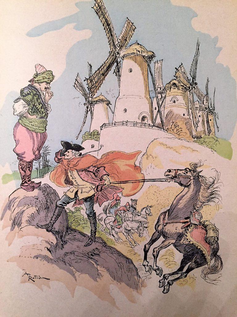 Les aventures du baron de Mundchausen