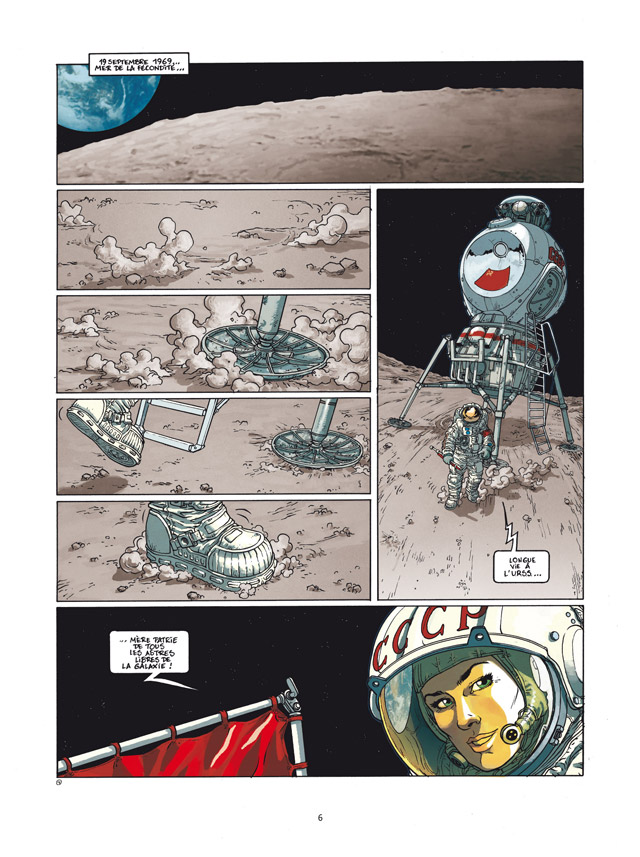 Les russes sur la lune !