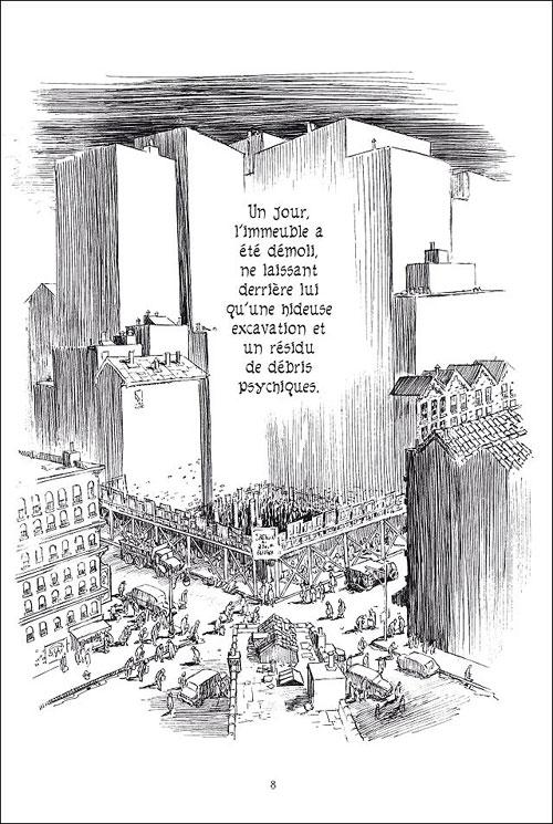 New York trilogie : l'immeuble
