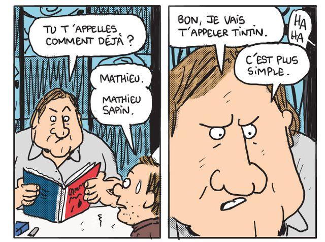 Gérard - Cinq années dans les pattes de Depardieu