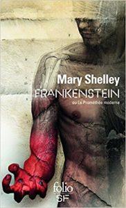 Frankenstein, livre de cauchemars pour Halloween