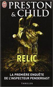 Relic, livre de cauchemars pour Halloween