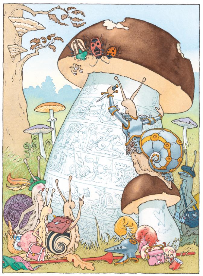Le chevalier ventre-à-terre