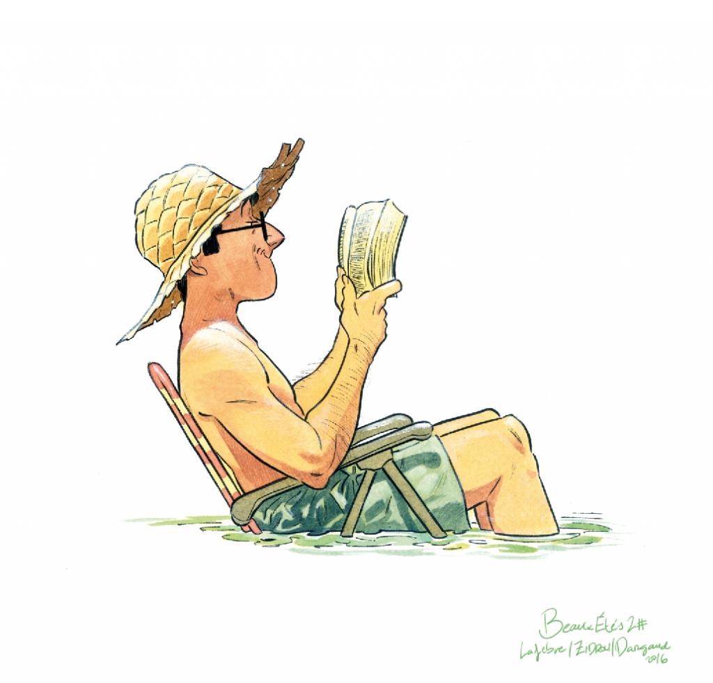 Les beaux étés - La calanque