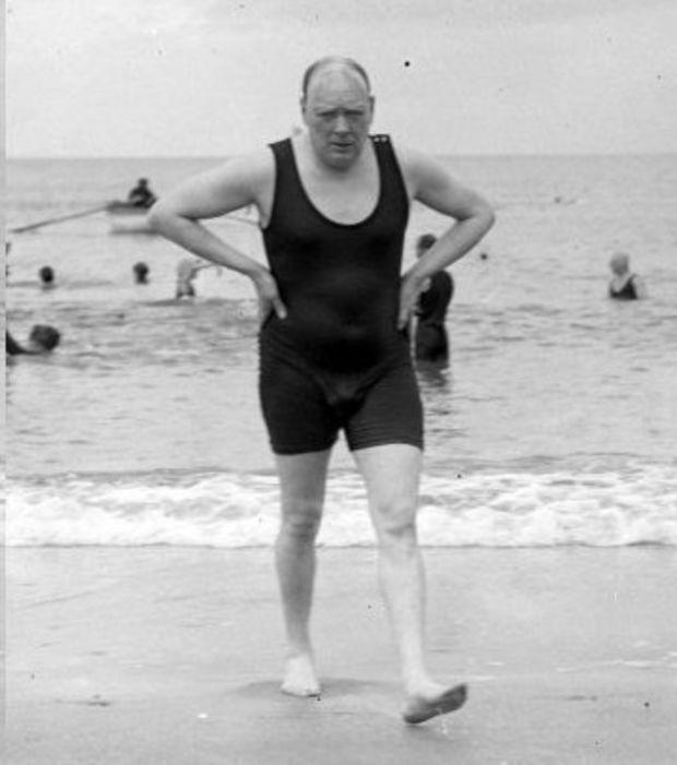 Moi, Winston Churchill