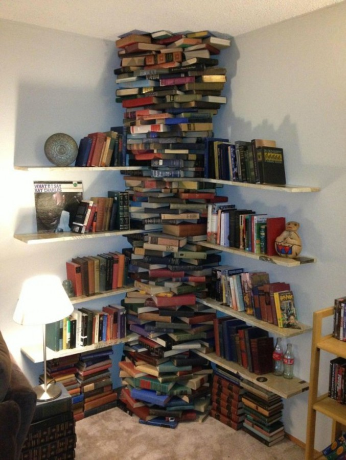 Dans la famille « J'ai une #bibliothèque unique au monde »