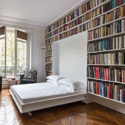 Dans la famille j'ai une bibliothèque unique au monde