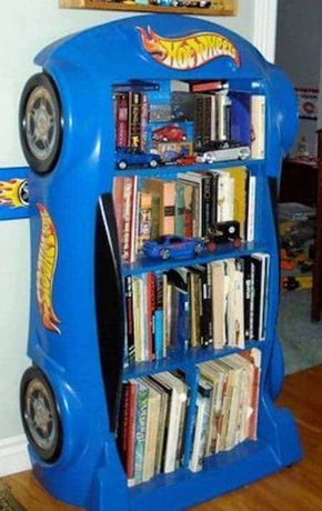 "La bibliothèque ""Hot Wheels"""