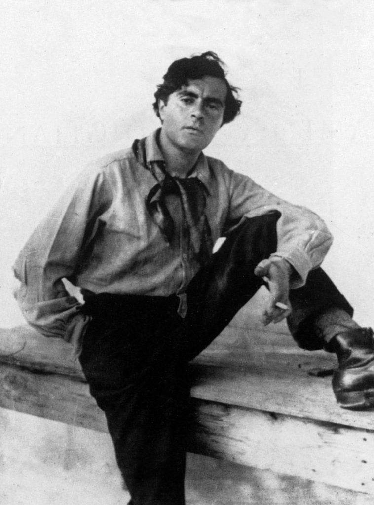 Modigliani (Marc Vaux - fin des années 1910)