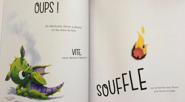 l y a un dragon dans ce livre