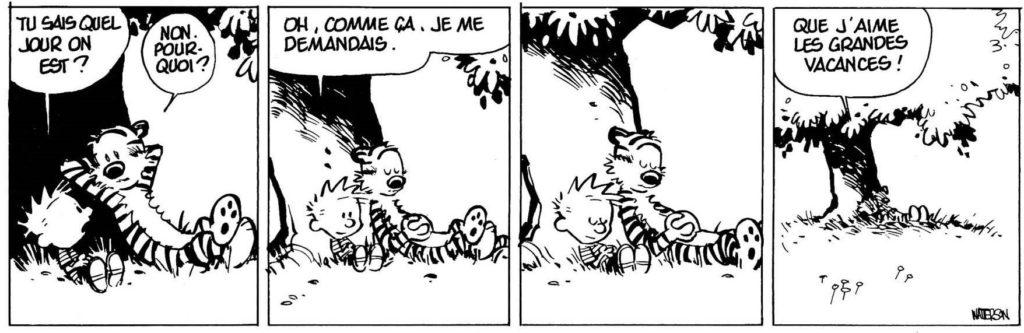 Calvin et Hobbes - Debout tas de nouilles !