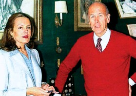 Catherine Nay et Giscard