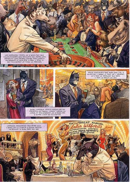 Blacksad - Âme rouge