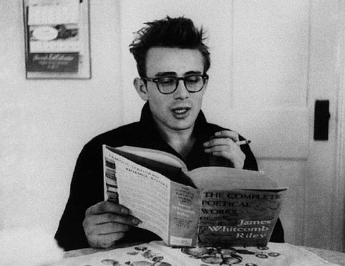 James Dean adore lire