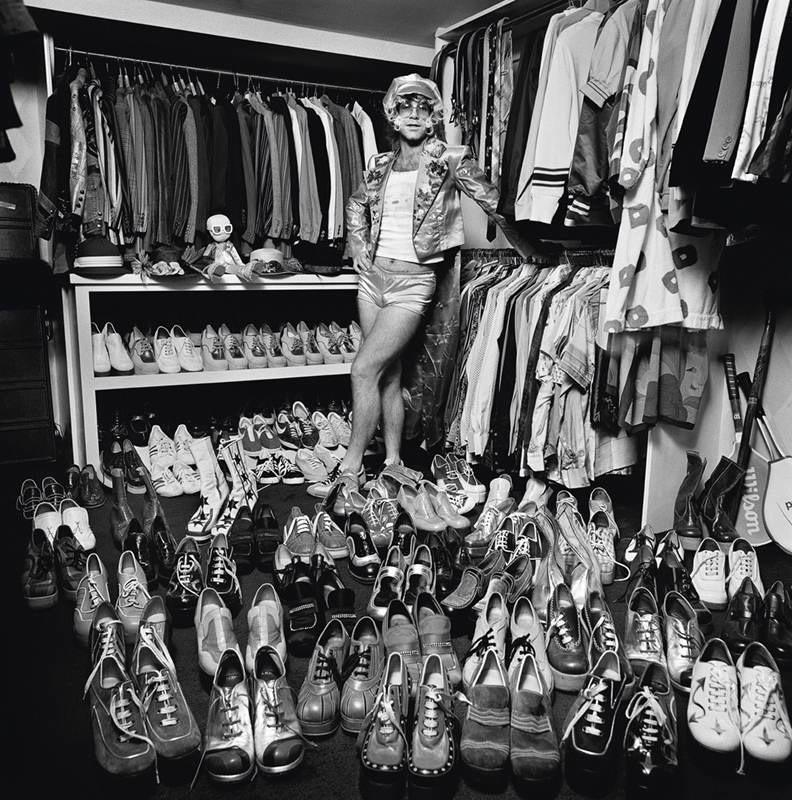 Elton John et sa collection de chaussures